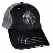 Charcoal Distressed Logo Hat